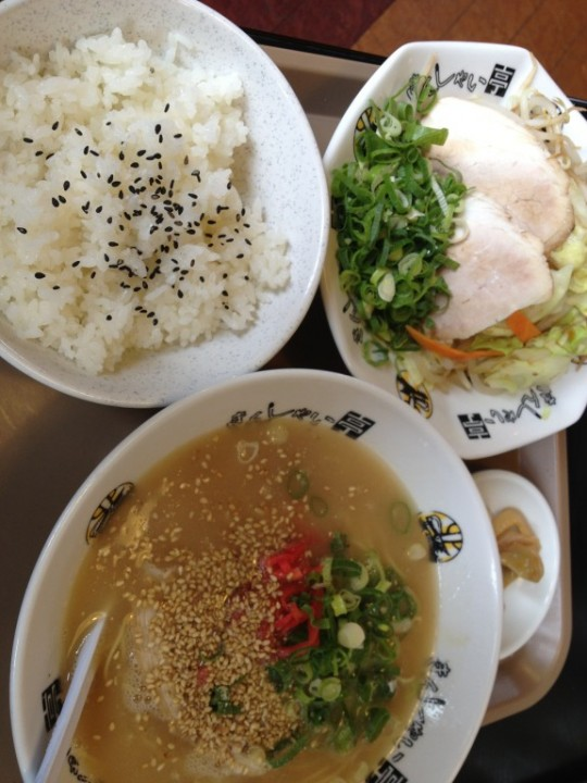 きんしゃい亭の平日限定メニュー・A定食