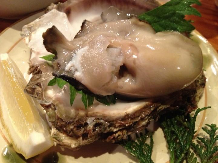 いろりの岩牡蠣