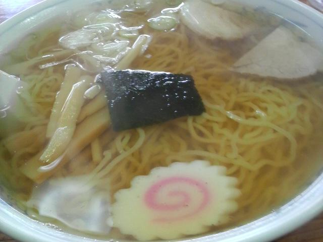 六太郎食堂のラーメン(中華そば)