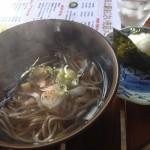 田上駅 立ち食い蕎麦