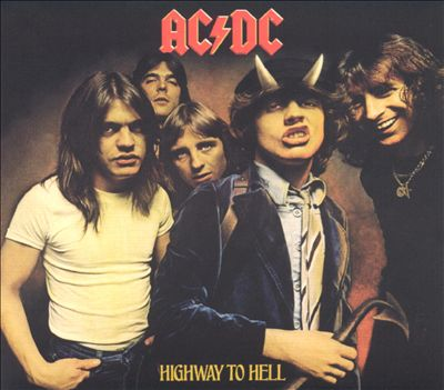 "AC/DC 6th album ""HIGHWAY TO HELL"""