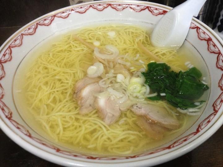 めん処くら田のラーメン(塩)・細麺