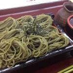 がんこ茶家 緑茶蕎麦