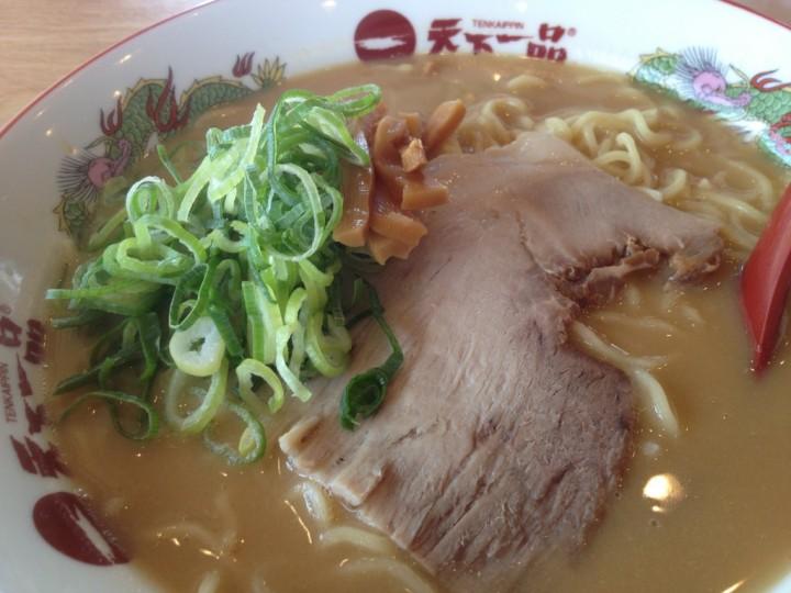 チャーハン定食のラーメン(こってり)