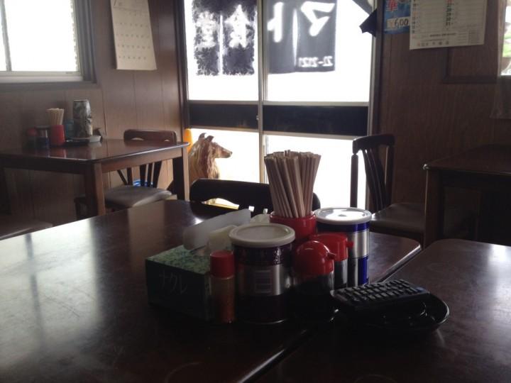 ヤマト食堂の店内