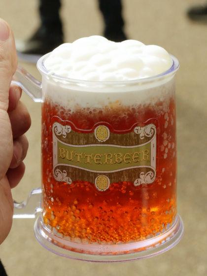 USJのハリーポッターのバタービール