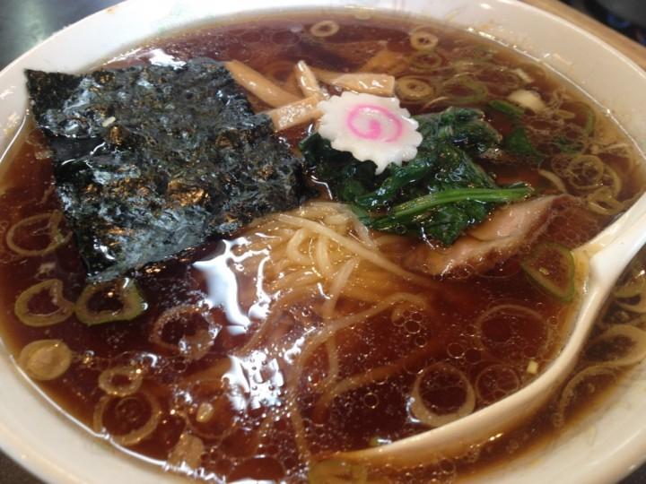 青島食堂曲新町店の「青島ラーメン」