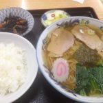 栃尾 丸五食堂 ラーメン定食