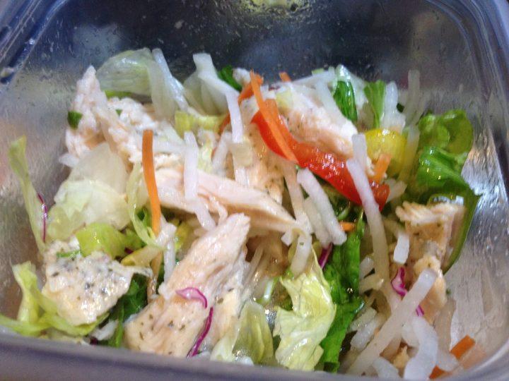 ハーブ鶏と野菜のマリネ風・制作中