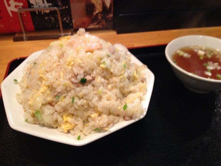 万華炒飯(スープ付き)