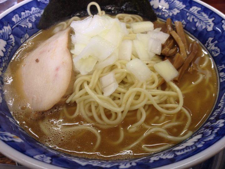 碧空麺舗の限定メニュー「鶏白湯らーめん」