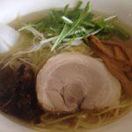 白根 泰紋 鶏節ラーメン 塩650円 2016-03-07 066