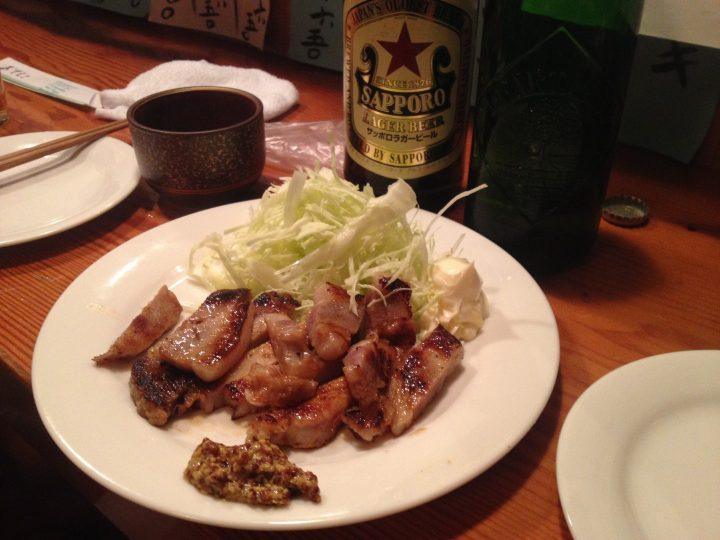 ダウンタイムカフェの豚味噌漬け焼き(2016年4月)