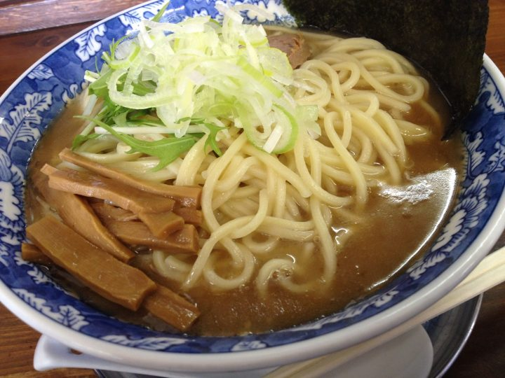 碧空麺舗の中華そば(大盛り)