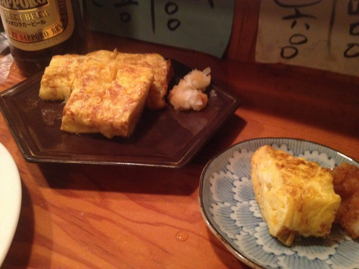 ダウンタイムカフェの厚焼き玉子