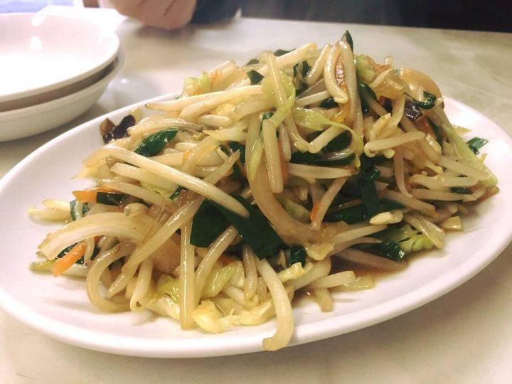 らーめんはなぶさの野菜炒め