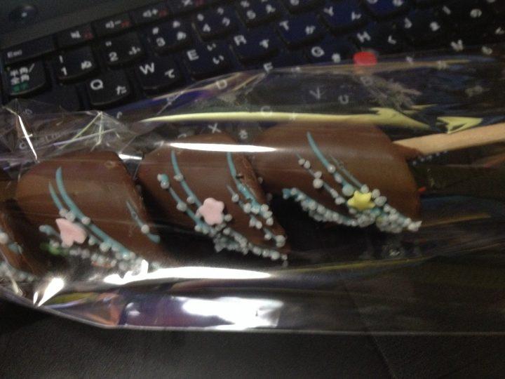 三条まつりのチョコ バナナ(2016年5月)
