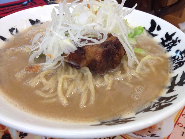 いなば製麺の超濃厚豚骨拉麺