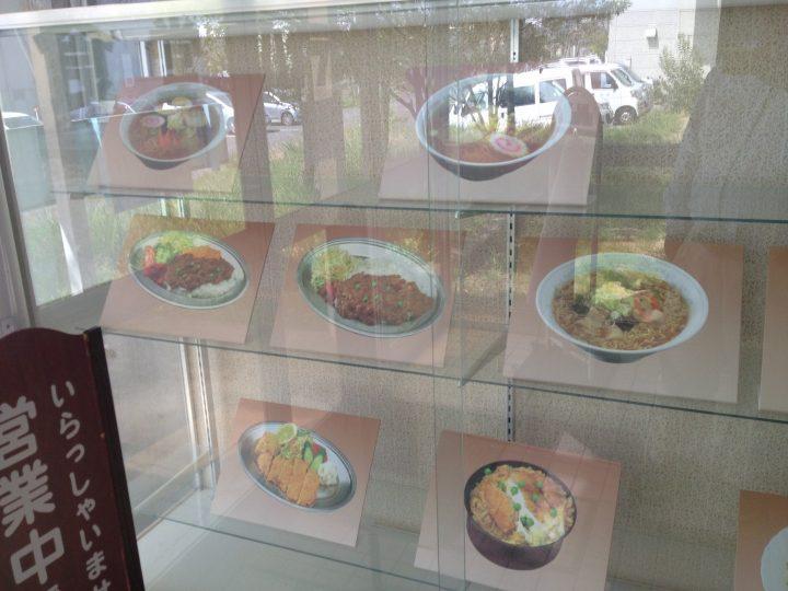 ハイランクの食品サンプルショーケース