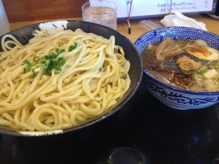しゃがら三条店のつけ麺特盛り(2016年5月)