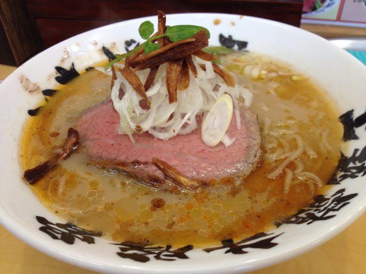 いなば製麺の洋風白湯牛骨拉麺