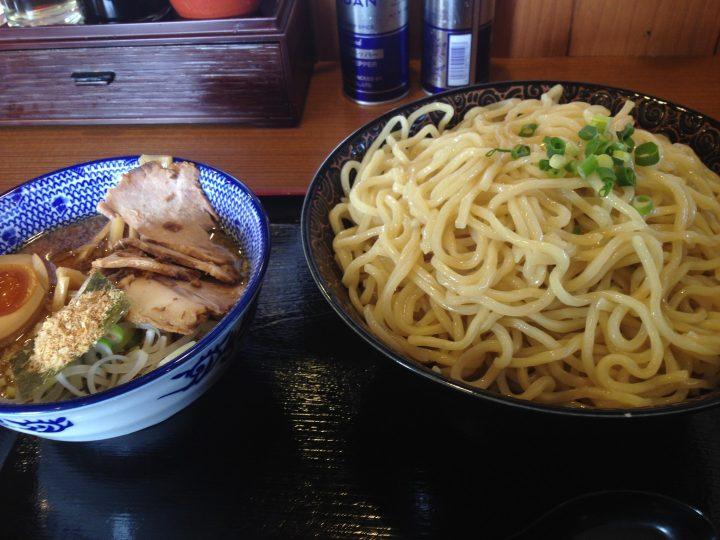 麺屋ばやし燕三条店のつけ麺爆盛り(2016年7月)