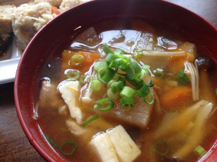 日替わり定食の味噌汁