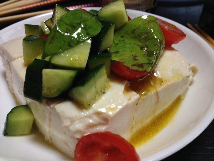 オリーブ豆腐