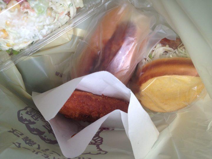 銀の麦の惣菜パン各種