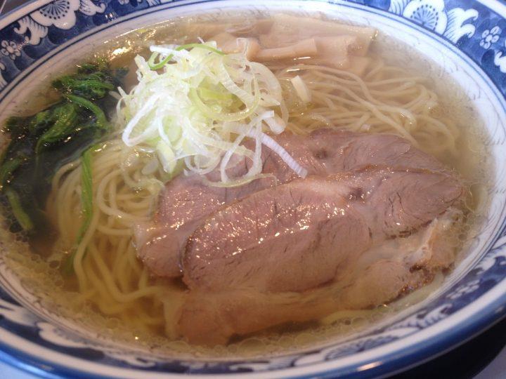 麺屋オグリ 琥珀ラーメン 2016-07-27 022