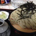 丸竹食堂 ざるそば 2016-08-15 004