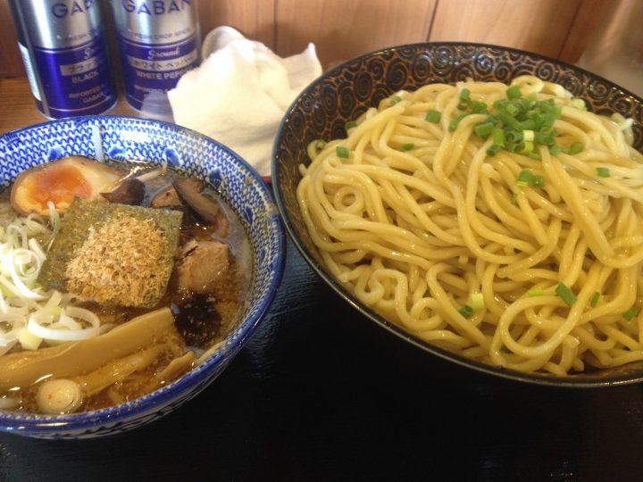 ばやし 爆盛りつけ麺2016-08-04 002