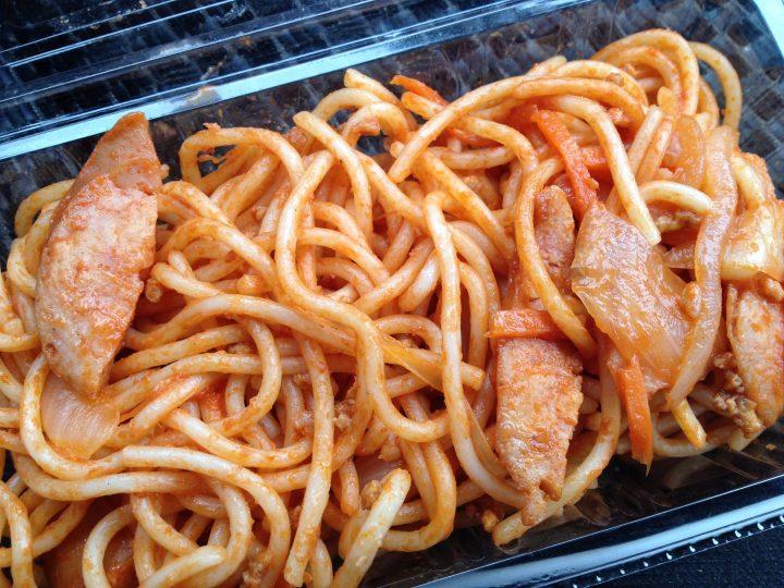あいでんのスパゲッティ(開封後)