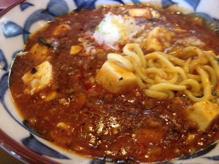 全とろ麻婆麺のアップ