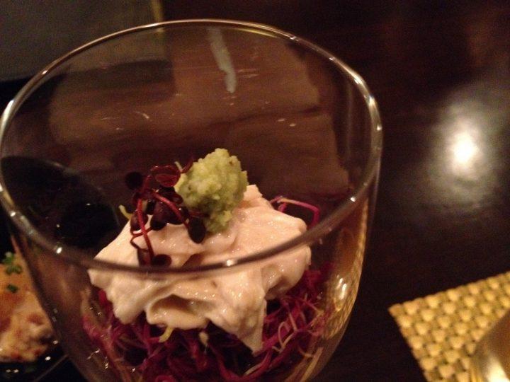 菊(かきのもと)の前菜