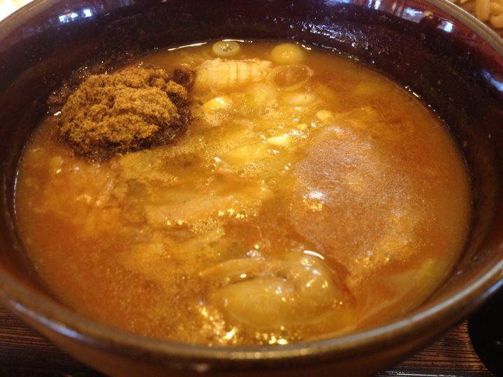 つけ麺「極」のつけ汁