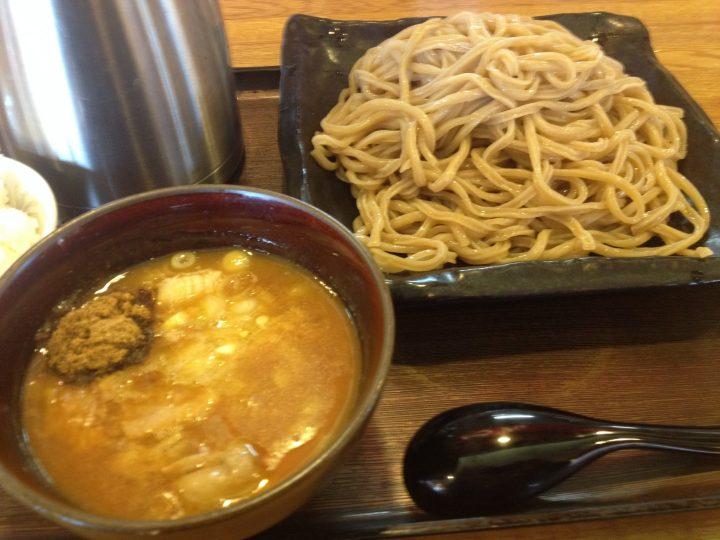 さんぽう亭のつけ麺「極」