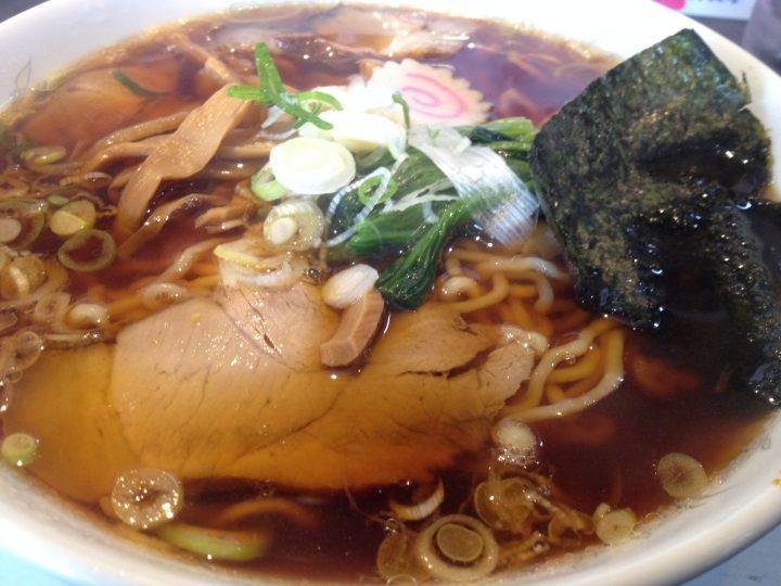 みずさわ吉田店の越後長岡生姜醤油ラーメン