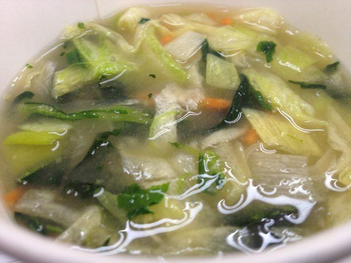 5種の野菜味噌汁・完成後
