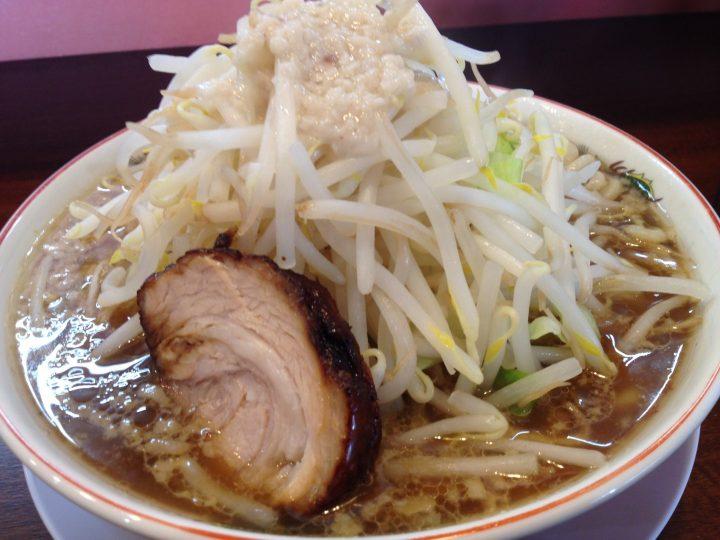 のろし白根店のラーメン(肉1枚)