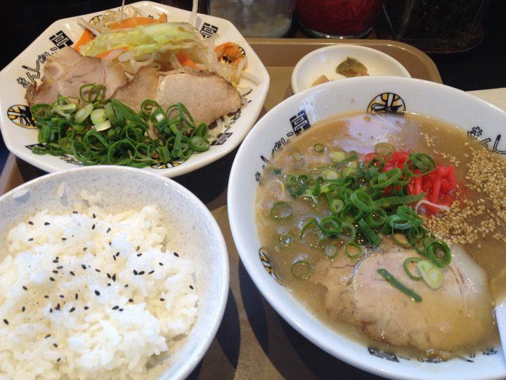 きんしゃい亭県央店のA定食(野菜)