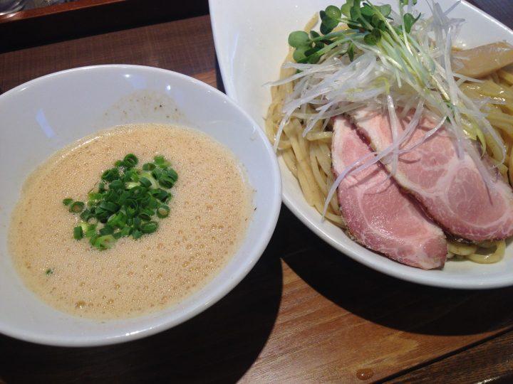 麺作赤シャモジ本店の濃熟醤油つけ麺