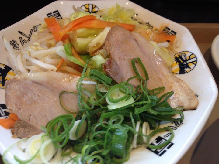A定食の温野菜
