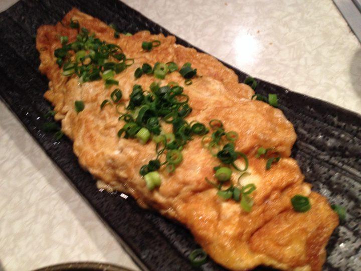 デンジャラスチキンの「牡蠣のオムレツ」