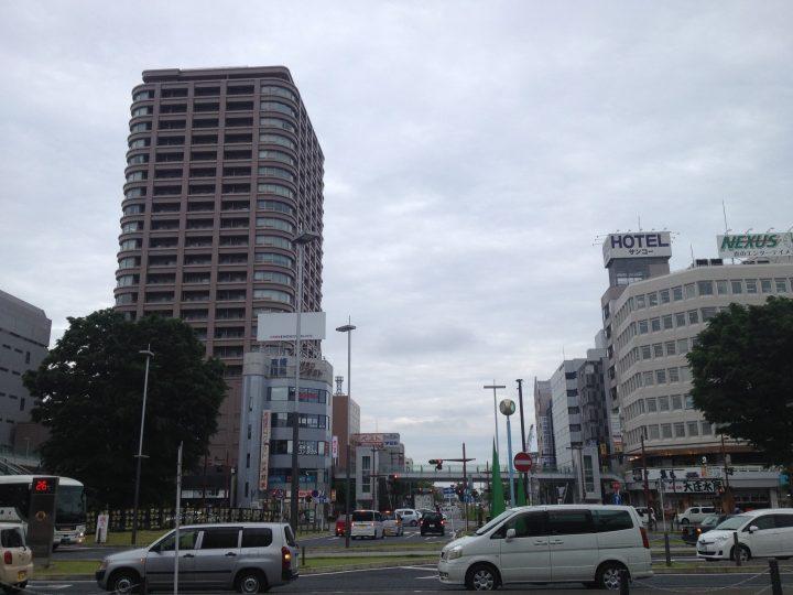 高崎駅東口前(2017年5月)