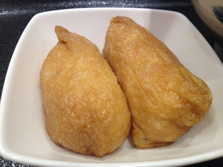 朝そばいなりの稲荷寿司(2個)