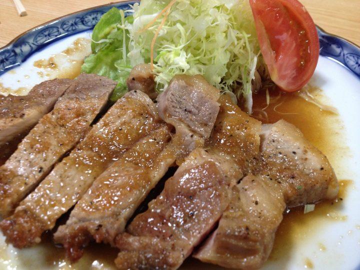 福泉の豚生姜焼き(単品)