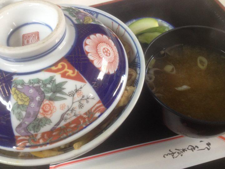 食堂孔雀の和風カツ丼