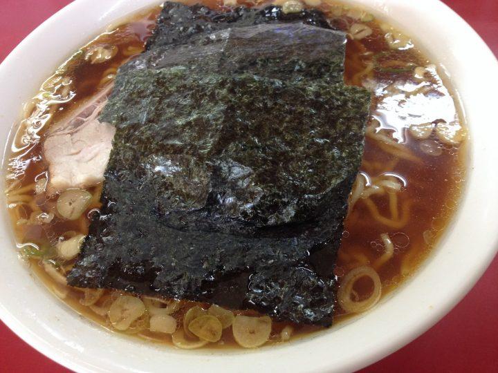 笹舟栄店のラーメン