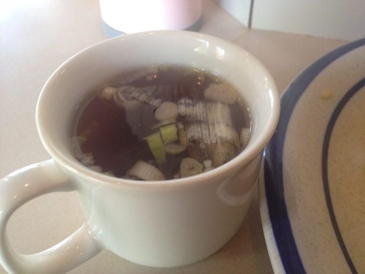 老広東の炒飯・スープのアップ